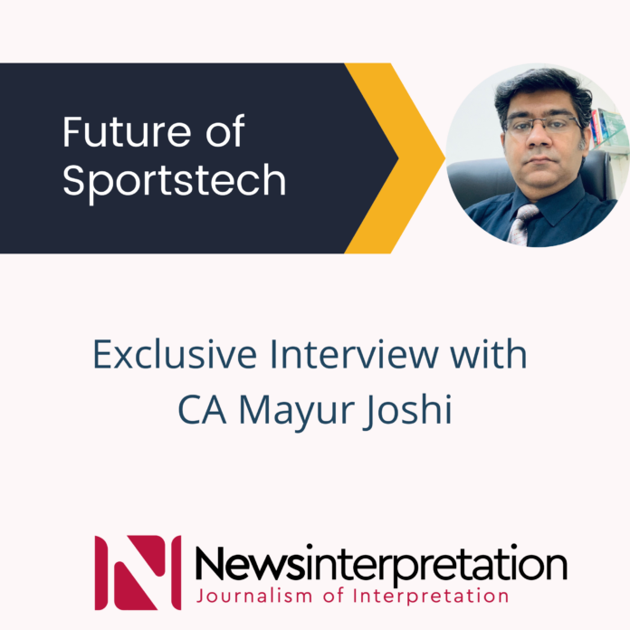 Mayur Joshi sportstech